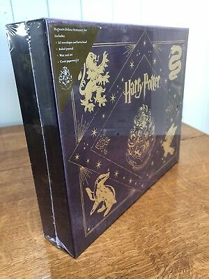 Harry potter Hogwarts Deluxe Stationery Set (New, Unopened)