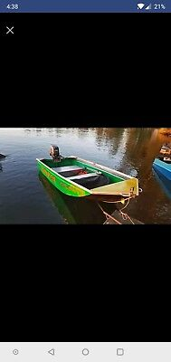 Quintrex 3.2 MTR tinny and 25hp Yamaha