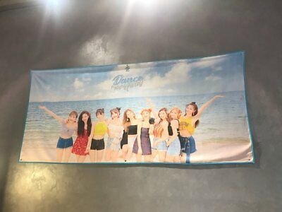 "twice summer pop up store popup "" dance the night away ""  beach towel day ver"
