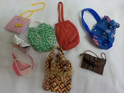 vintage dolls handbags bundle sindy /barbie ?