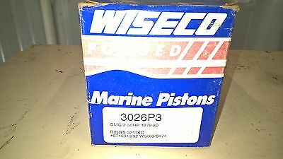 Wiseco Piston .030 OMC/2 50HP 1979-80  3026P3