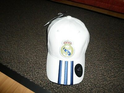 Adult Adjustable Real Madrid Adidas Cap New With Tags.uk Only Postage.