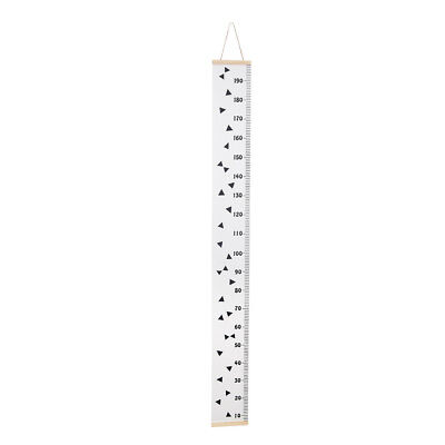 Wooden Wall Hanging Baby Child Kids Growth Chart Height Measure Ruler Wall St NY