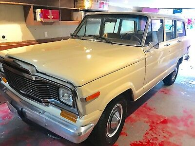 1985 Jeep Wagoneer chrome Classic Selec-Trac Grand Jeep Wagoneer