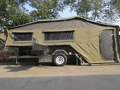 Dual Fold Hard Floor Camper Trailer FullOff Road 4WD With Lots of Extras Camping