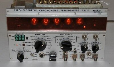 Vintage NIXIE-TUBE frequency/period counter