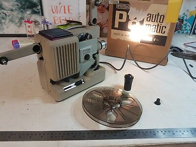 Vintage Eumig 8 Projector, Working