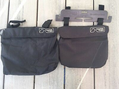 mountain buggy side pockets panniers storage never used