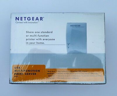 Netgear PS121NA USB Multifunction Print Server