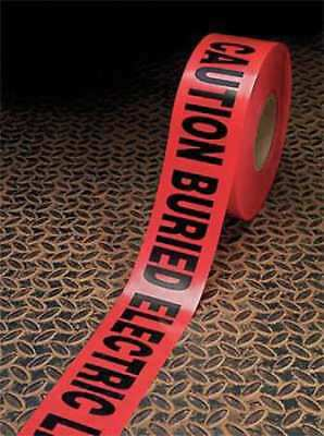 Barricade Marking Tape,3In W,Red,PK16 3M 303