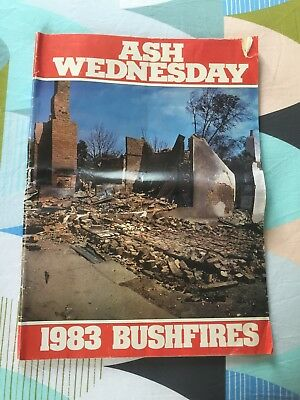 VINTAGE Newspaper ASH WEDNESDAY 1983 BUSHFIRES 78 Pages. Pick up Vic available