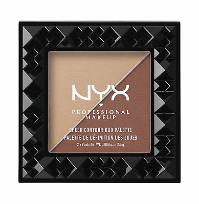 NYX professionellen Make-up Cheek Contour Duo Palette - 06 Ginger & Pepper