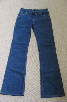 Levis bootcut brand new without tags dark denim 28""