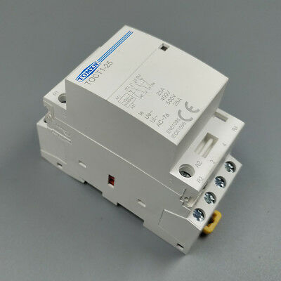 CT1 4P 25A 110V Coil 50/60HZ Din rail Household ac contactor 2NO 2NC