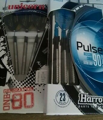 "2 Sätze TOP STEELDARTS,Harrows ""Pulse"", Unicorn ""Nico Blum"", wie neu !"