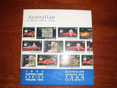 Australian Phonecards  Pack Series One And Series Two Face $54 F1 + Syd Opera