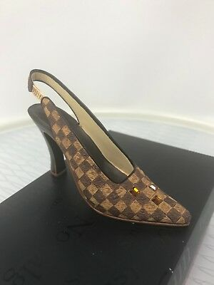 Just The Right Shoe Check It Out 25107 Mint In Box
