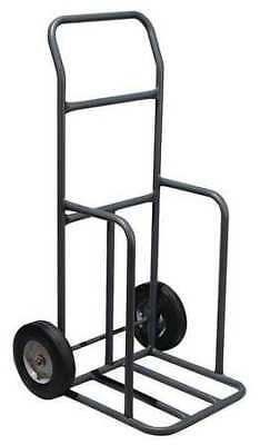 Traffic Cone Cart,Black,16 x 14 x 45 In ZORO SELECT 03-500-CCG
