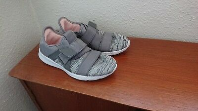 Womens Next Grey Slip On Trainers Size 4