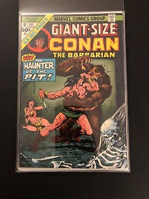 Giant Size Conan the Barbarian 2 High Grade Marvel Comic Book 32-44