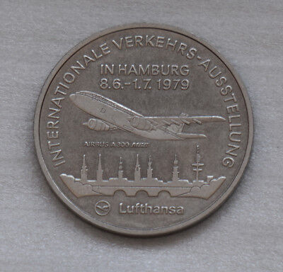 Große Medaille Lufthansa Airbus A300, IVA 1979