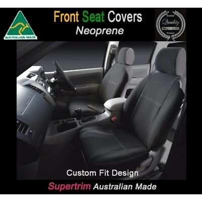 FRONT+2 Armrest Covers Fit iMax Q-W (Feb08 - Now) Neoprene Waterproof