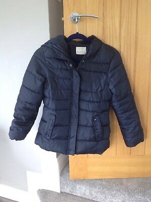 Zara Girls Winter Coat Age 11-12