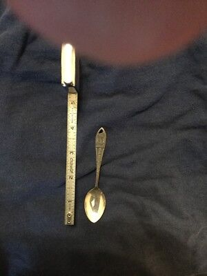 Antique Silver Walt Disney World Spoon...old...original