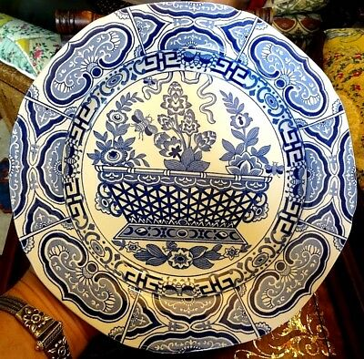 Edward Leigh Gallery Reproduction Blue & White Transfer Ware Chinoiserie Pattern