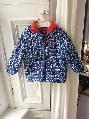 Mini Boden Girls Autumn Winter Coat Jacket 2-3y. Guc.