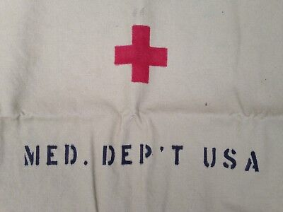 Reproduction WWI US Medical Department Litter Stretcher Cover