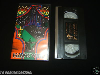 Hawkwind Night Of The Hawks Uk Vhs Video Pal Format