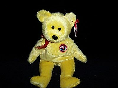 TY Beanie Baby Babies TRADEE Bear 2000 MINT Private Collection