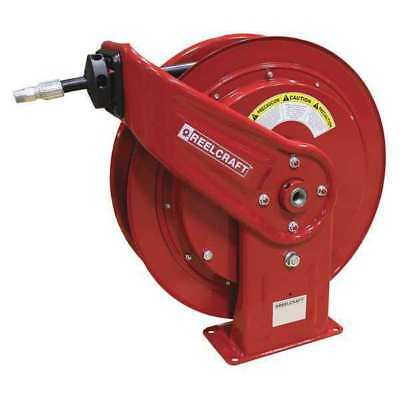 "1/4"" x 100 ft. Spring Return Hose Reel with Hose 5000 psi REELCRAFT HD74100 OHP"