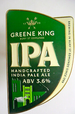 GREENE KING MIGHTY MOOSE IPA Pump Clip SEALED INCLUDES CLIP
