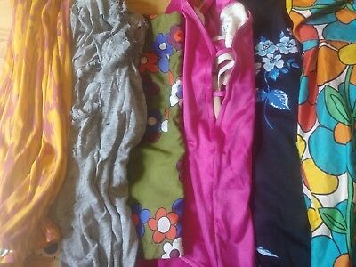 Vintage Clothing Lot Flower Power 60s 70s 80s Retro Hippie MCM Missoni Groovy