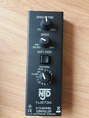 NJD NJ273A LED Star Cloth Replacement DMX Controller