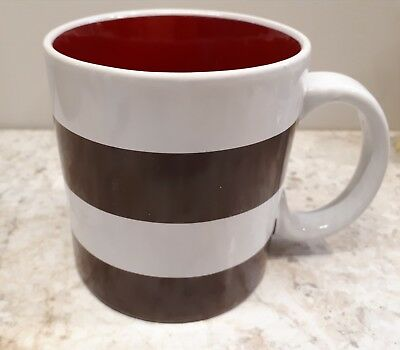 Tim Hortons 2016 Mug Stripes Red inside