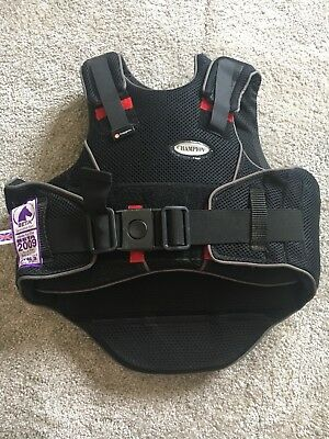 Kids Champion Back Protector. Short Back. Size X Small