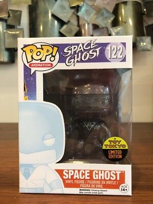 FUNKO POP SPACE GHOST VINYL FIGURE WITH FREE POP PROTECTOR