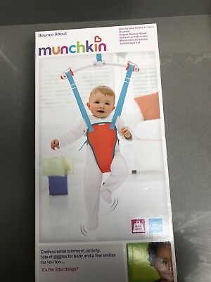 3a569f0d1 MUNCHKIN BOUNCE ABOUT Baby Door Bouncer - £7.00