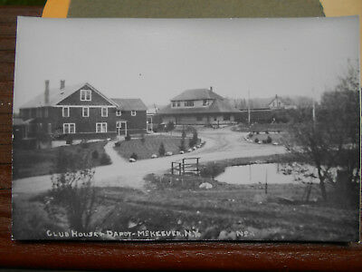 Rppc Mckeever Depot=Hotel=Adirondacks=Inlet=Old Forge Ny=Fulton Chain=Raquette