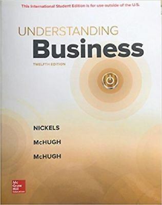 Understanding Business 12th Nickels,McHugh Int'l Ed.Deliver 3-4 bus days/Insure