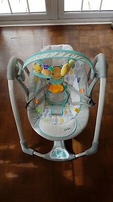 Taggies Baby Swing With Sounds