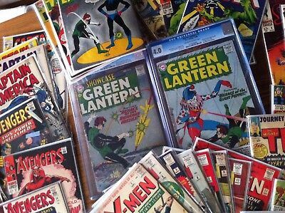 Wonder Grab Bag Lot - Superman, Batman, Green Lantern 76, Flash, Showcase 4 22