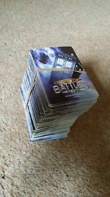 Dr Who Invader collectable trading cards 356 approx cards