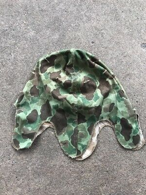 Post-WW2 US Marine Corp Frogskin Helmet Cover (A285