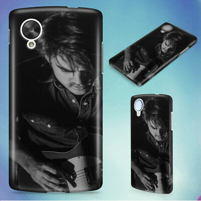 Man Playing Electric Guitar Hard Back Case Cover For Nexus Phones