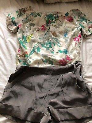 Ted Baker Womens Playsuit Size 1 FAB CONDITION !