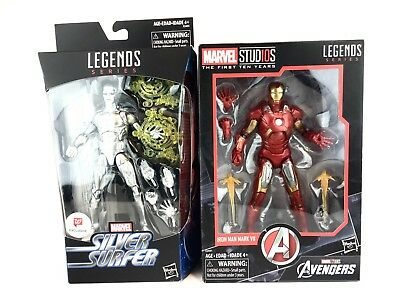 2018 Marvel Legends SILVER SURFER Walgreens IRON MAN First 10 Yrs Lot LAST ONE!